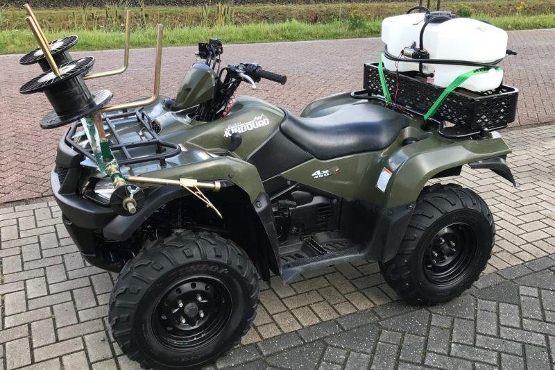 Suzuki KingQuad 450 Rappa afrasteringsysteem