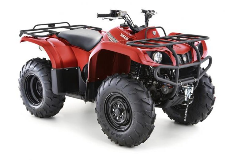 Yamaha Grizzly 350 4WD Rood