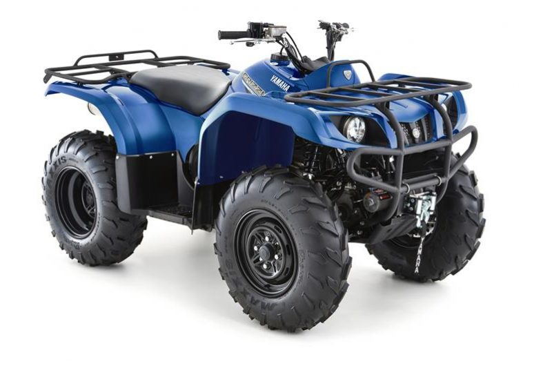 Yamaha Grizzly 350 2WD Blauw
