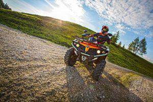 CF Moto CForce 550 EPS Orange Ride