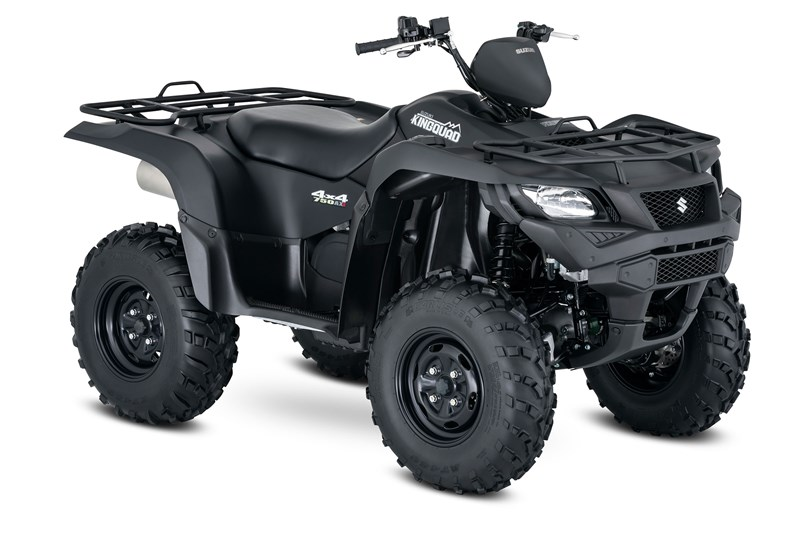 Suzuki KingQuad 750 Black matt