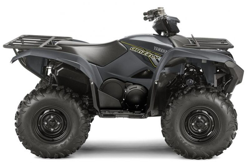 Yamaha Grizzly 700 EPS Grijs