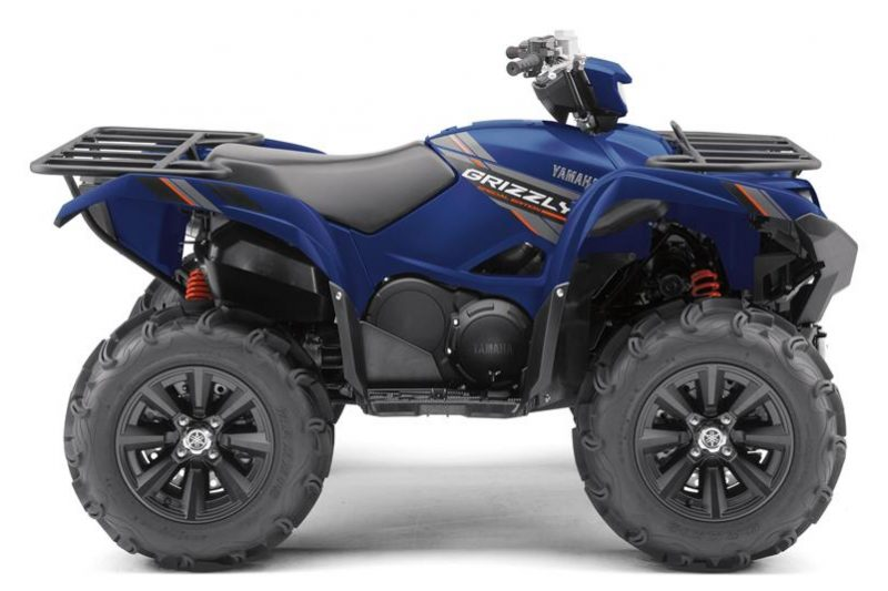 Yamaha Grizzly 700 EPS SE Backcontry Blue