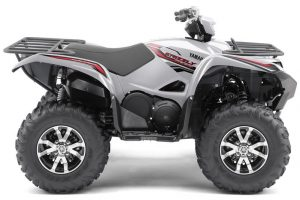 Yamaha Grizzly 700 EPS SE Silver