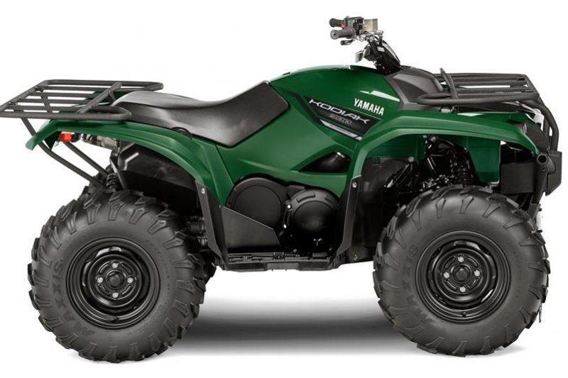 Yamaha Kodiak 700 Groen