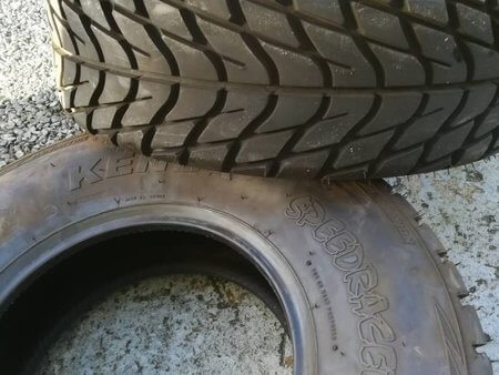 quad banden zonder velg