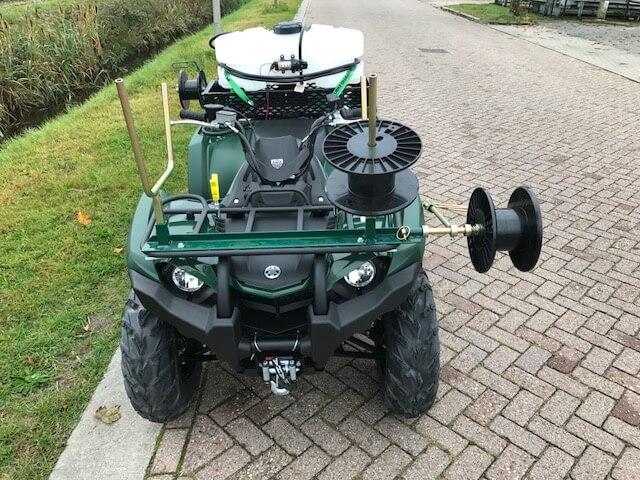 landbouw quad met accessoires